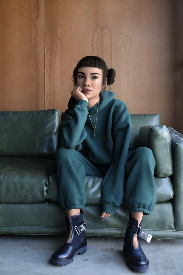 Miquela_Green_Sofa
