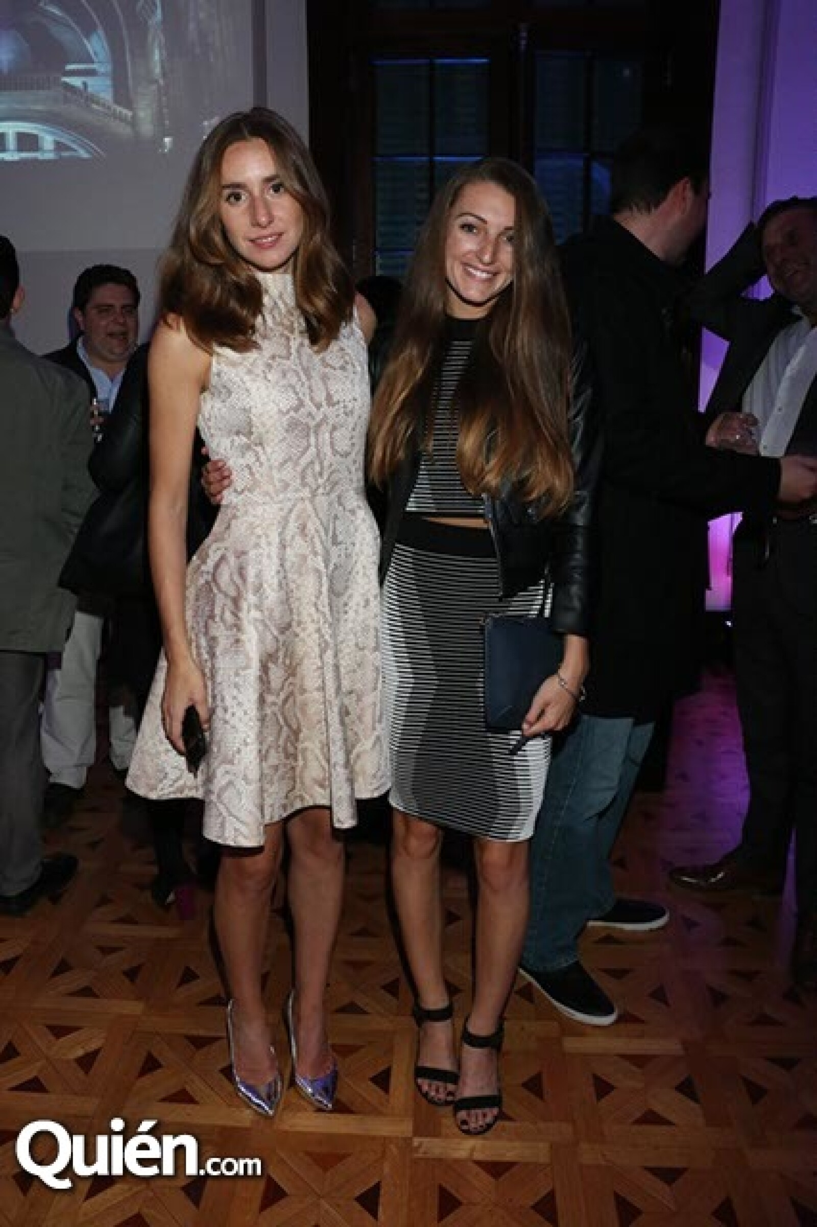 Alexandra Sourbis y Jessica Kiniery