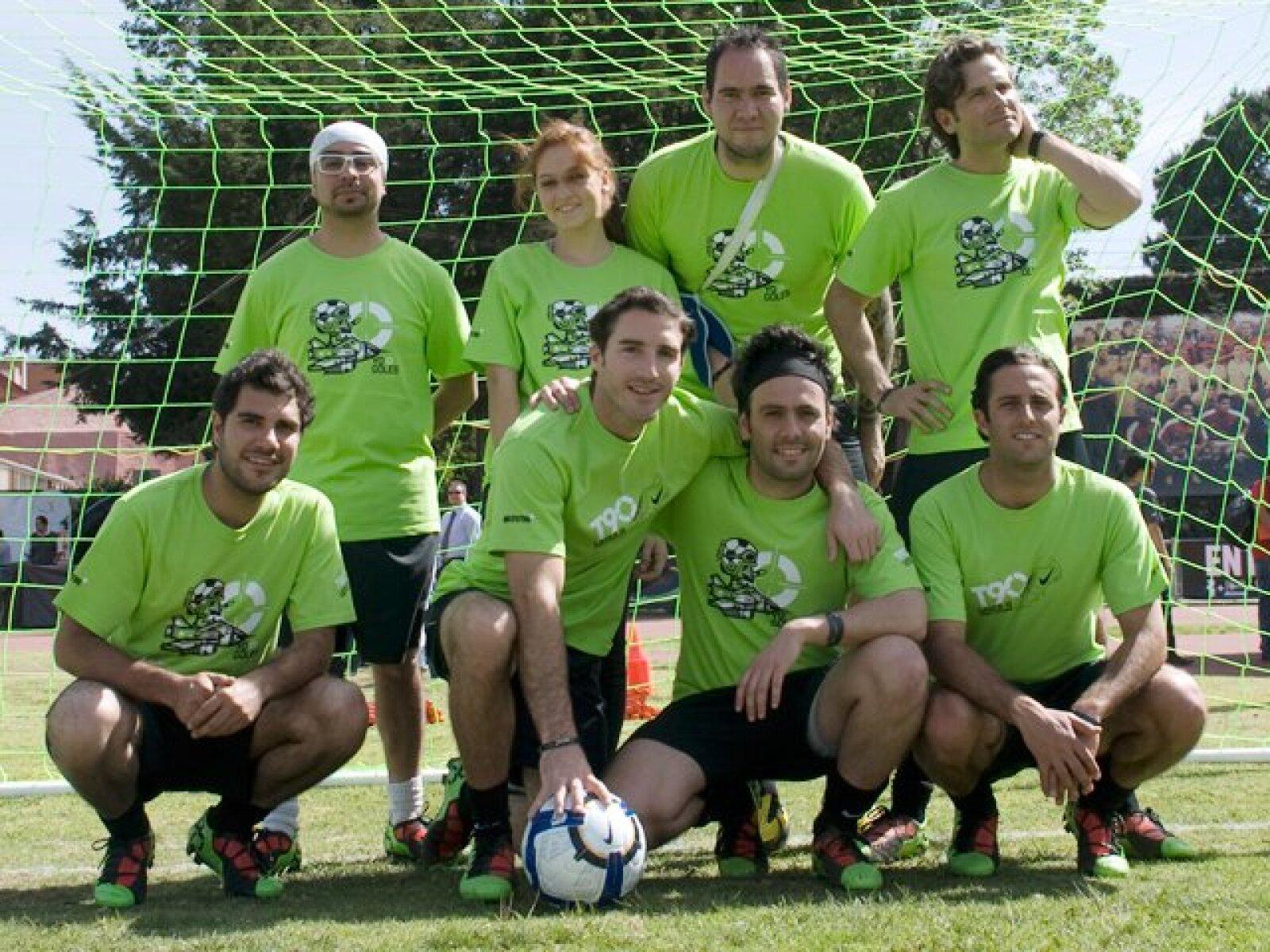 La foto del equipo.