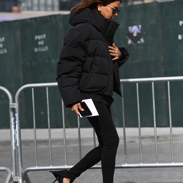 Street Style, Fall Winter 2019, New York Fashion Week, USA - 10 Feb 2019