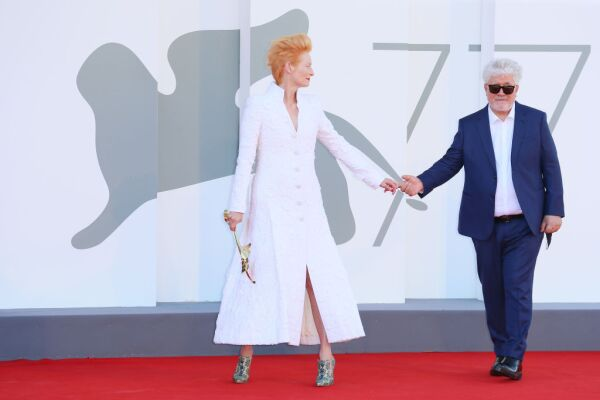 """The Human Voice"" and ""Quo Vadis, Aida?"" Red Carpet - The 77th Venice Film Festival"