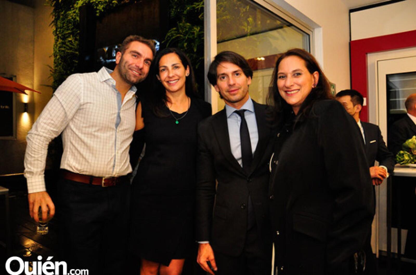 Giovanni Filippis, Daniela Norinder, Abelardo Marcondes y Michelle del Monte