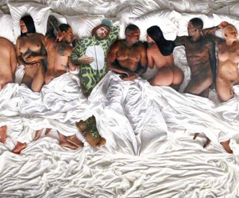 La famosa escena de desnudos en el video de Kanye.
