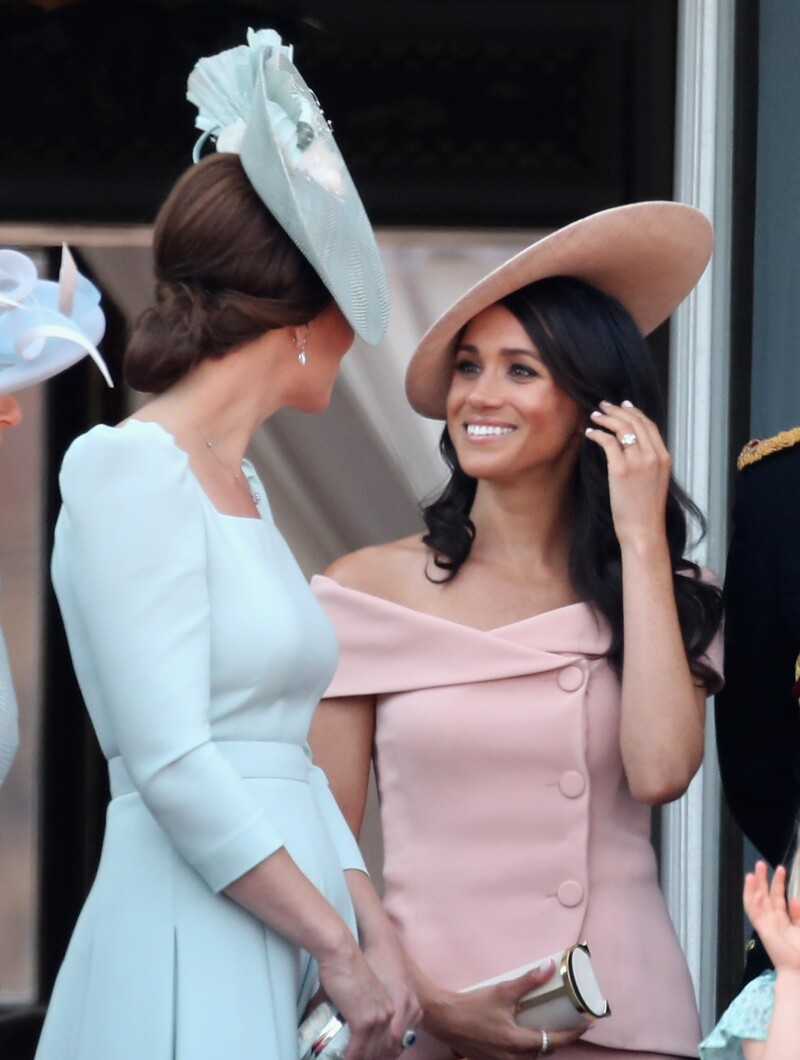 Meghan Markle y Kate Middleton.