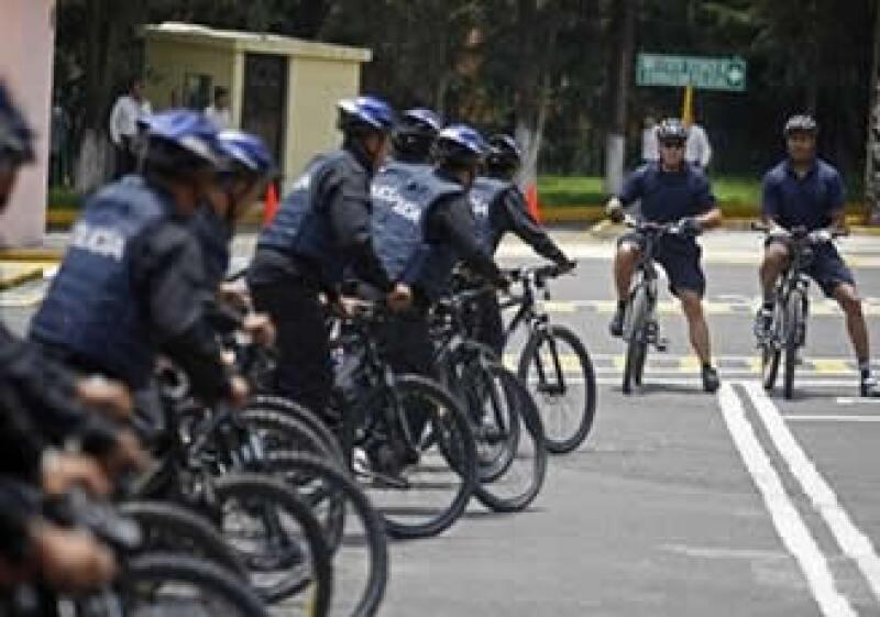 El curso para los policías inició el lunes y concluirá el jueves. (Foto: AP)