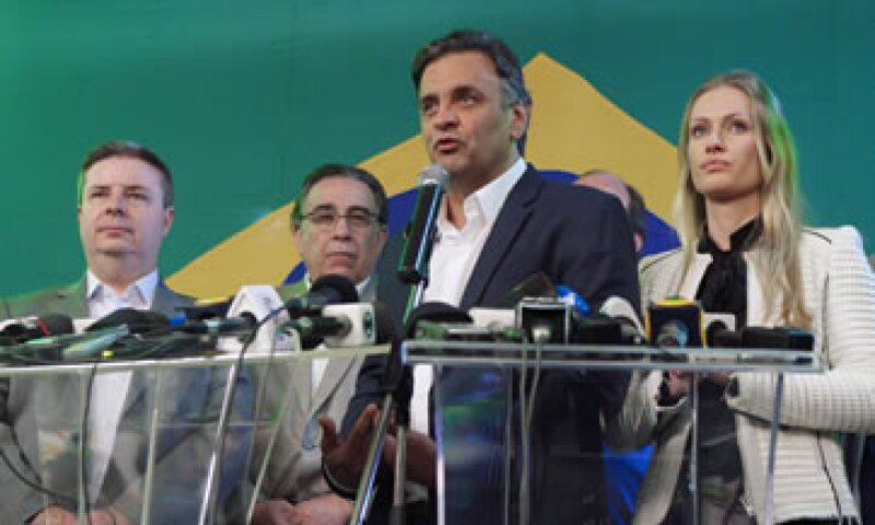 Neves obtuvo 34% de los votos en la primera ronda de elecciones. (Foto: Reuters)