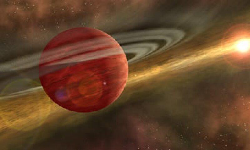 El planeta HD-106906b es tan grande que ha sido llamado Júpiter Gordo. (Foto: NASA/JPL-Caltech )