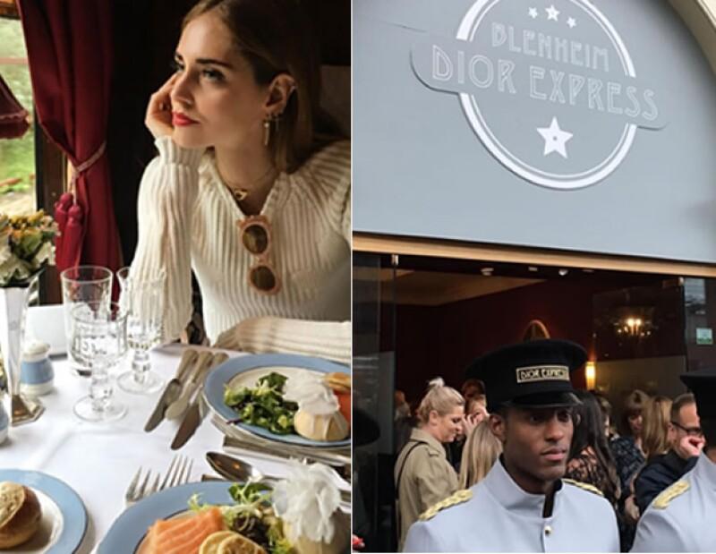Chiara Ferragni, Aimee Song y Alexa Chung fueron algunas de las pasajeras del Dior Express