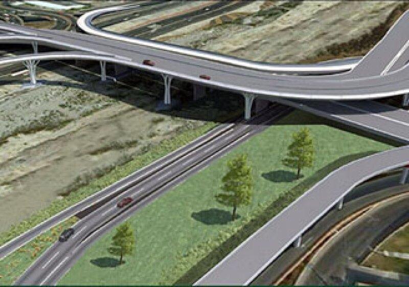 Dentro de este proyecto se contempla la construcción de puentes, enlaces, conexiones y adecuaciones viales. (Foto: Cortesía Gobierno de Nuevo León.)