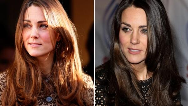 Este jueves la duquesa de Cambridge llamó la atención en el evento benéfico al lucir un castaño más oscuro y una melena visiblemente más corta.
