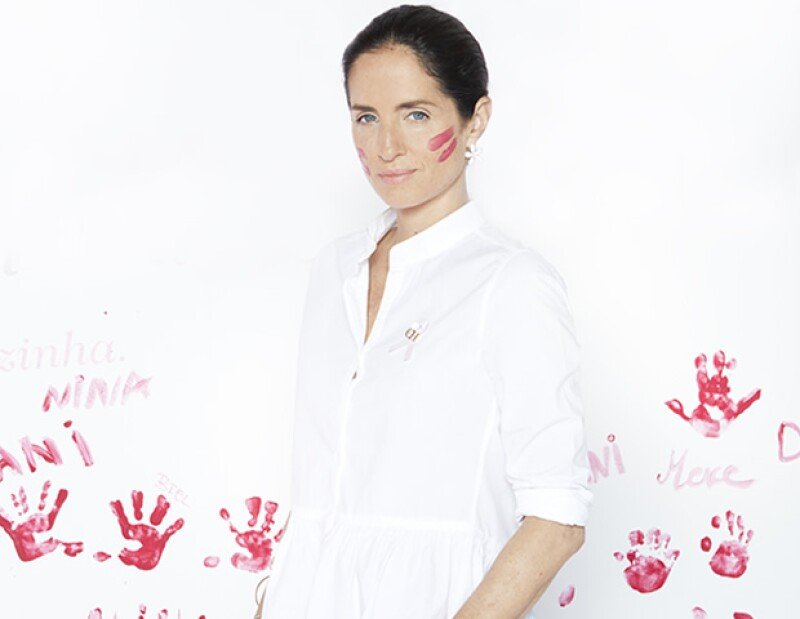 Carolina Herrera de Báez dirigió la campaña de CH PINK.