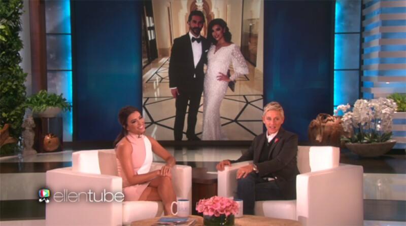 Como dato curioso, la actriz habló con Ellen DeGeneres de lo genial que fue para ella que su prometido no supiera quién era cuando los presentaron.