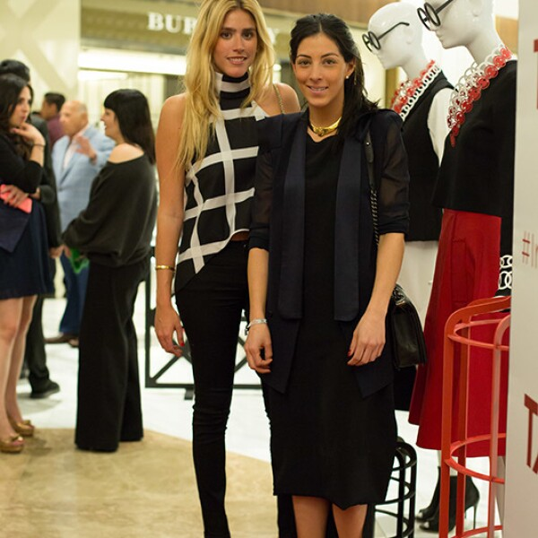 Fer Medina y Lorena Murat