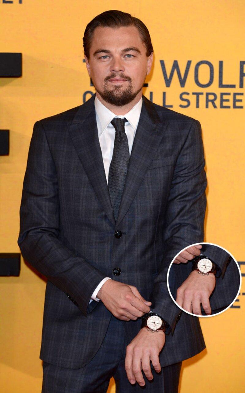 Leo es conocido por ser un apasionado coleccionador de relojes, y este de 4 mil 500 dólares no fue la excepción.