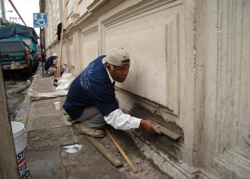 Restauraci�n de edificio hist�rico