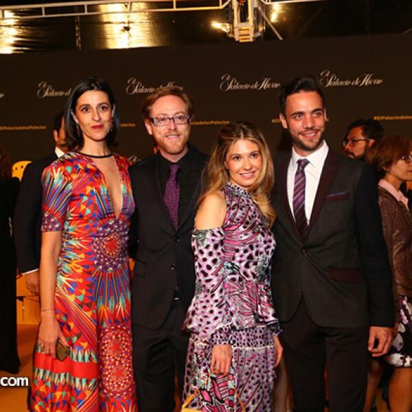 Laure Merat,Rodrigo Covalin,Fernanda Villagómez y Pablo Álvarez