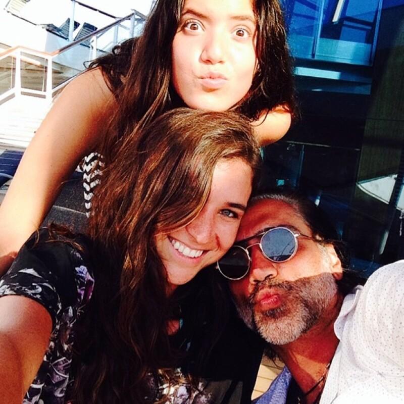 """Este sábado el Potrillo """"regresó a casa"""", luego de su gira &#39Confidencias World Tour&#39. Lo celebró en Guadalajara y con su hija Camila cantando """"Hoy tengo ganas de ti"""" en el escenario."""