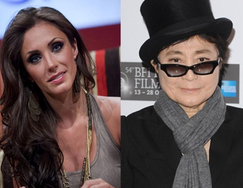 La actriz y cantante mexicana fue invitada para ser la embajadora de la paz, en la fundación que participa la famosa artista japonesa.