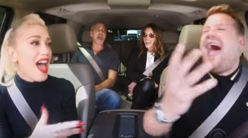 Los tres artistas hicieron el famoso carpool con el conductor James Corden, logrando un video que se ha viralizado en redes sociales.