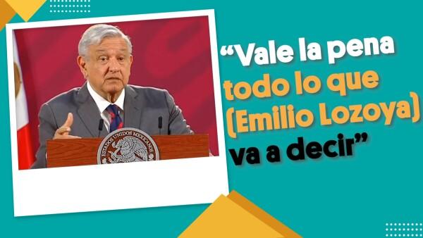 """""""Vale la pena todo lo que (Emilio Lozoya) va a decir""""   #EnSegundos"""