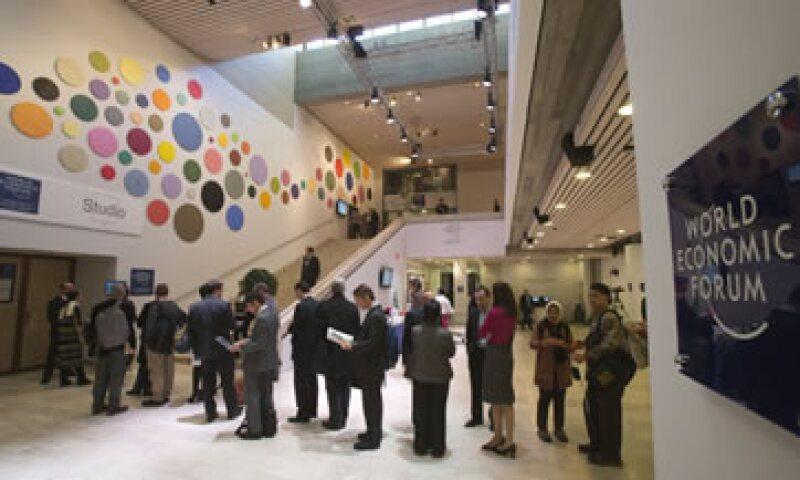 Para la edición del WEF de este año hubo 2,500 participantes de más de 100 países. (Foto: AP)