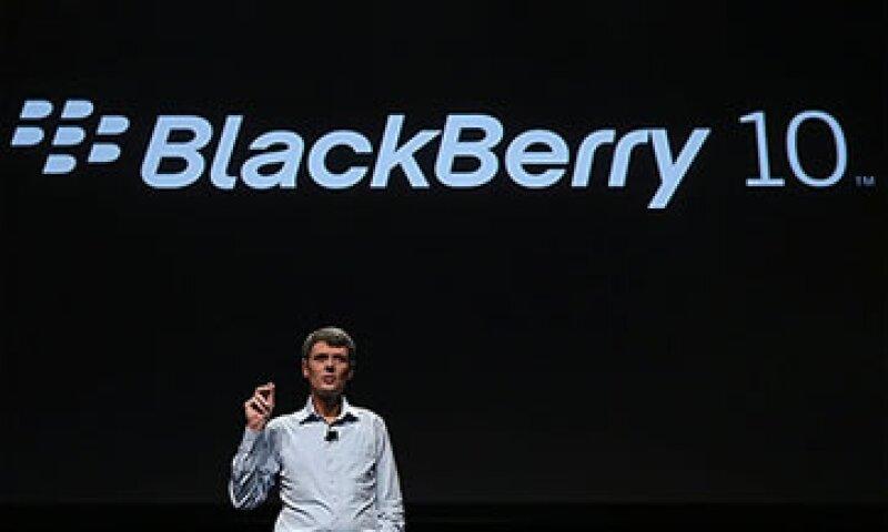 El lanzamiento de Blackberry 10 fue postergado en dos ocasiones.  (Foto: Cortesía CNNMoney)