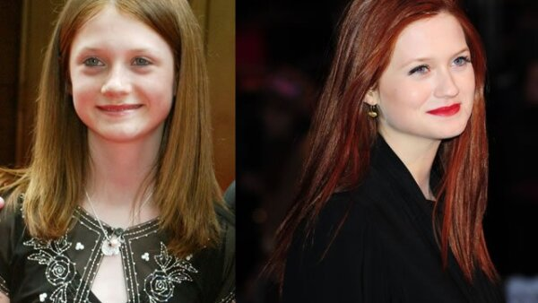Ginnie Weasley es interpretada por Bonnie Wright es la hermana menos de Ron, y tiene un romance con Harry Potter.