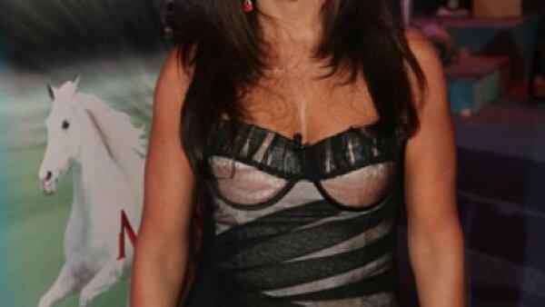Es Bárbara Greco en Mañana es para siempre de Televisa.