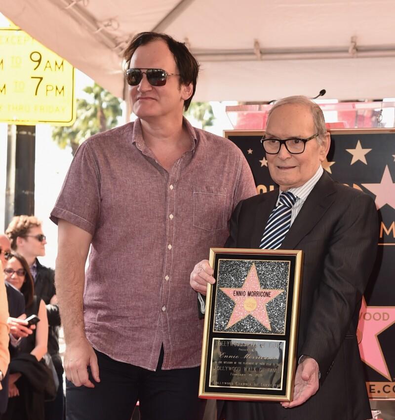 Ennio Morricone asegura que Quentin Tarantino es un cretino