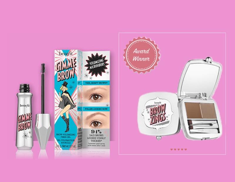 Olvidate de depilaciones o pinzitas. Esta nueva colección de Benefit te dará cejas perfectas en un abrir y cerrar de ojos.