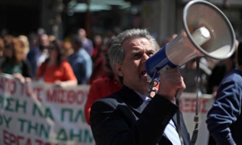 Los griegos parecen estar esperando castigar a la desacreditada clase política en las próximas elecciones.  (Foto: AP)