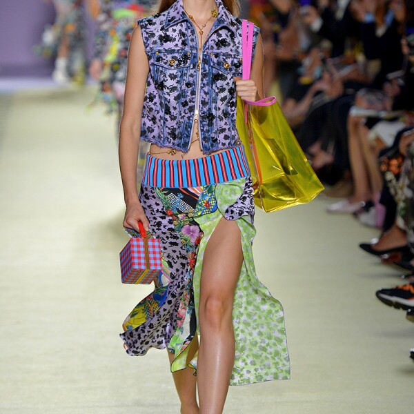Versace show, Runway, Spring Summer 2019, Milan Fashion Week, Italy - 21 Sep 2018