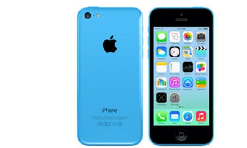 En México el iPhone 5C de 16 GB cuesta 8,999 pesos. (Foto: Especial)