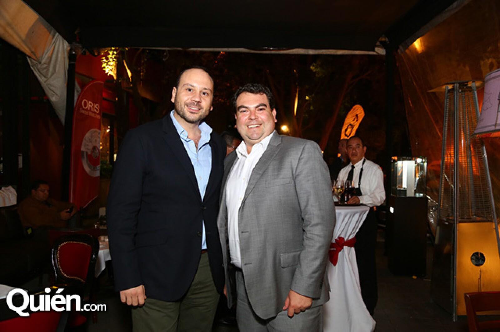 Alberto Rodríguez y Mauricio Mendoza