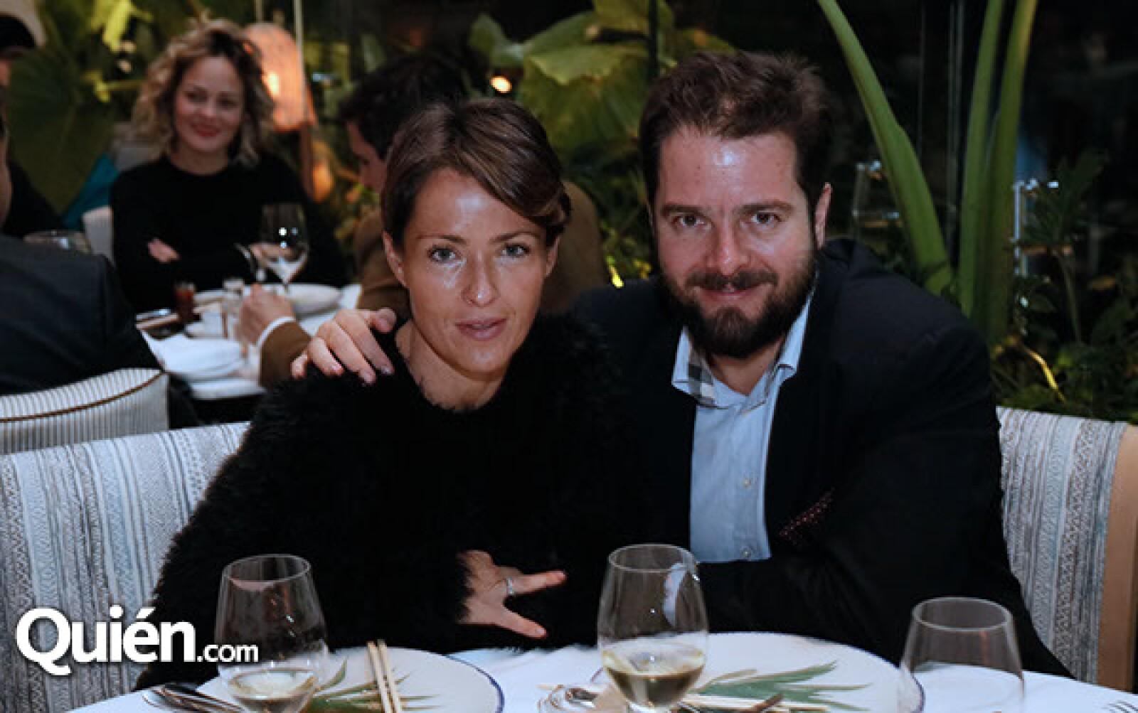 Regina Pérez y Peter Bauer