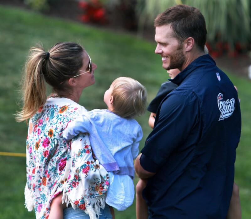 La famosa pareja siempre se ha mostrado de lo más tierna con sus hijos.
