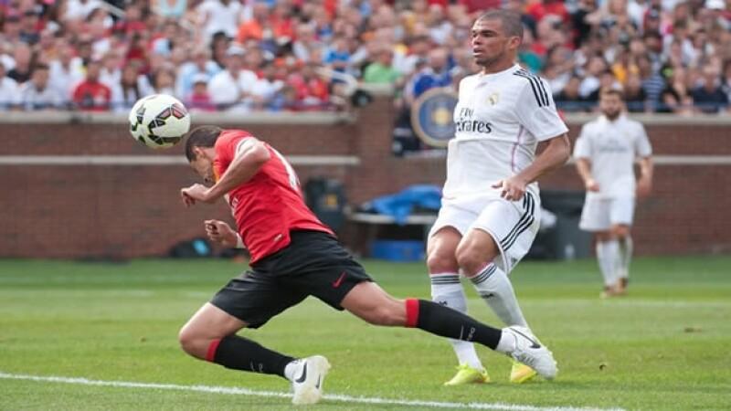 Javier Hernandez gol Manchester vs Real Madrid