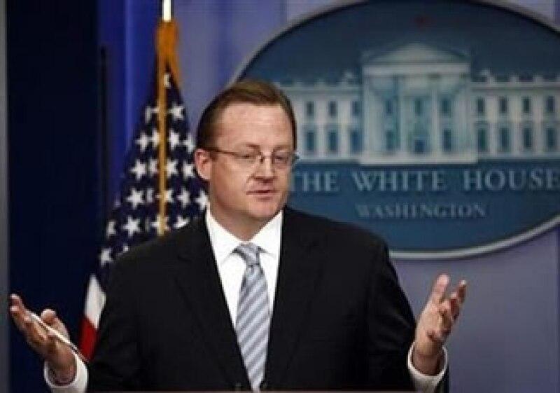 Robert Gibbs abandonó la Casa Blanca el mes pasado tras dos años en el cargo. (Foto: Reuters)