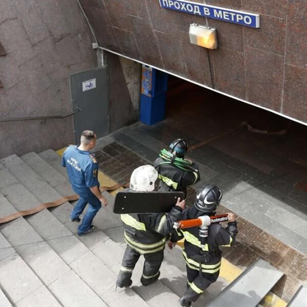 Accidente, Metro, Moscú