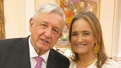 Andrés Manuel López Obrador y Patricia Armendáriz