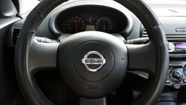 Nissan Micra interior, wheel close