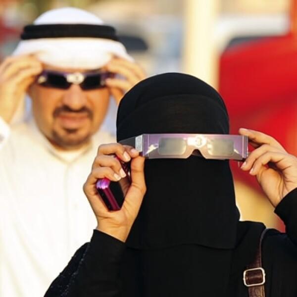 venus transito arabia saudita