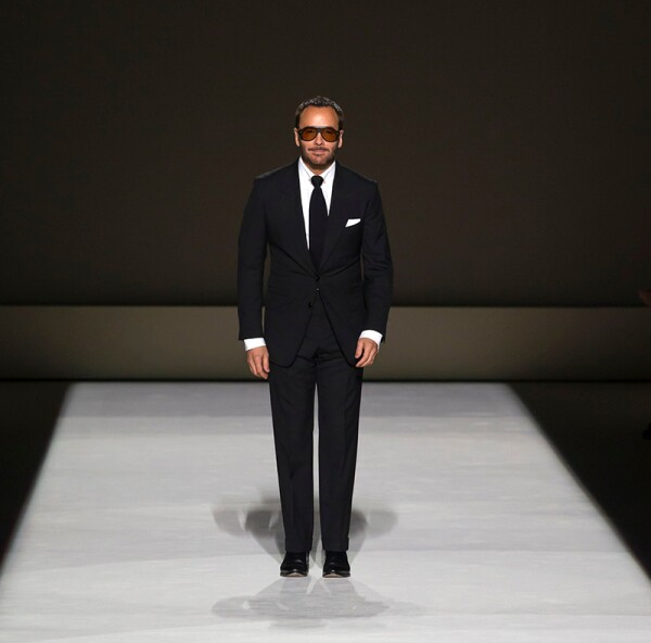 Tom Ford show, Runway, Spring Summer 2019, New York Fashion Week, USA - 05 Sep 2018