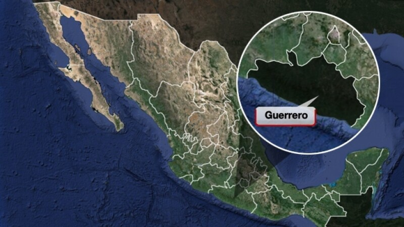 Mapa Guerrero