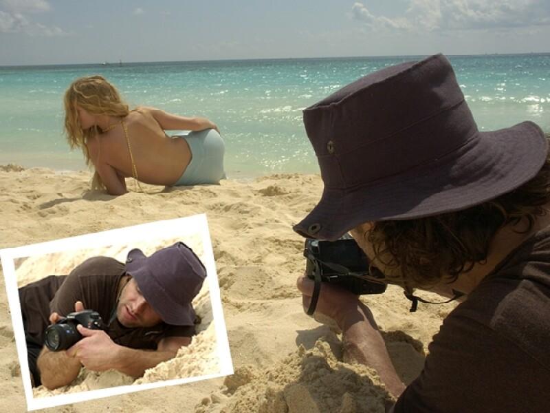 Adrián Burns fue el encargado de fotografiar a esta sirena