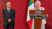 AMLO y Sánchez Cordero
