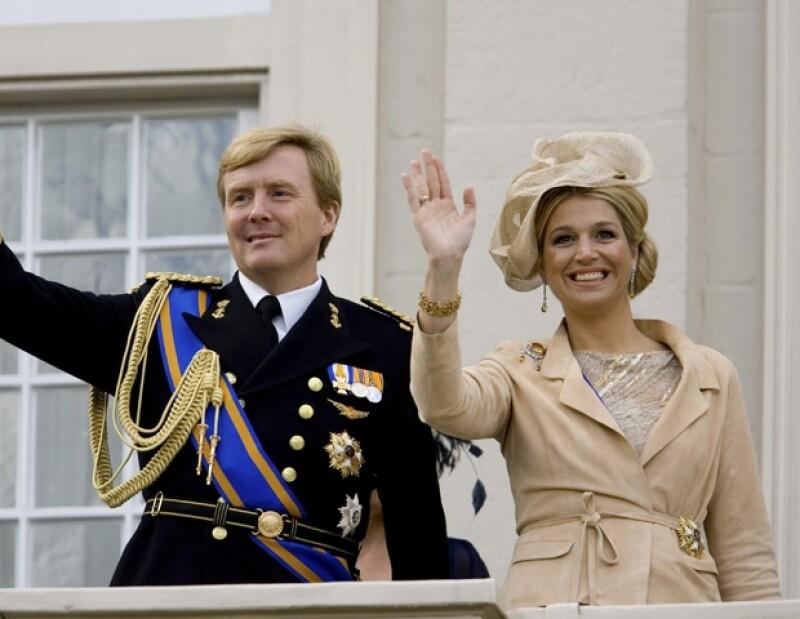 Guillermo y Máxima de Holanda.