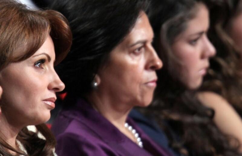 En su Sexto Informe de Gobierno, el político hizo mención a la solidaridad incondicional de su esposa, Angélica Rivera y de sus hijos, quienes también estuvieron presentes.