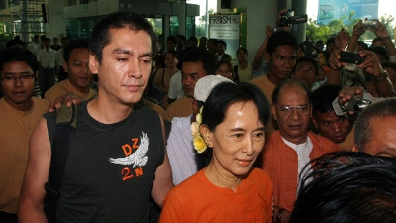 Visita Kim Aris Aung San Suu Kyi Myanmar