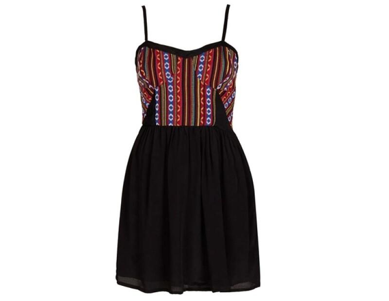 ¿Qué opinan de este vestido con inspiración mexicana?
